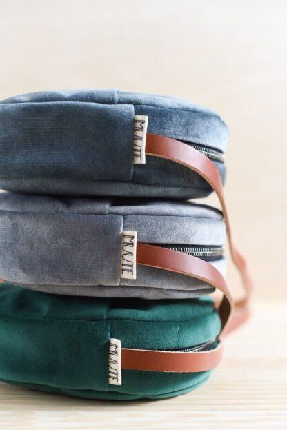 """""""MUUTE valmistaa kestäviä ja minimalistisia laukkuja ja reppuja."""""""